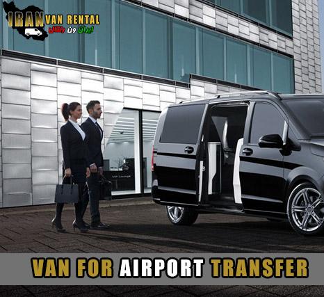 کرایه ون برای فرودگاه