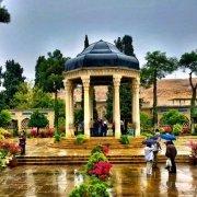 گشت درون شهر شیراز با ون